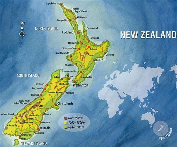 Reisverhaal nieuw zeeland aotearoa het land van de lange witte wolk reisblog marc - Tafelhuis van het wereld lange eiland ...